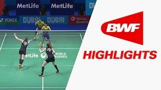 getlinkyoutube.com-Dubai World Superseries Finals 2016 | Badminton Day 1 – Highlights