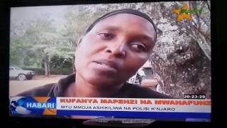 Huyu ndie mwalimu aliefumaniwa na mwanafunzi Rombo