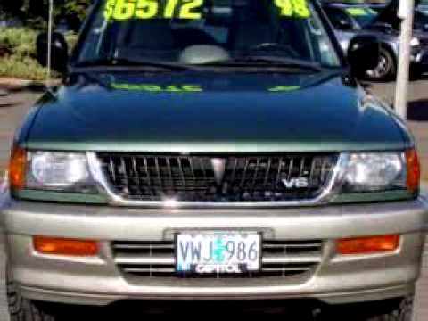 1998 Mitsubishi Montero Sport Problems, Online Manuals and ...