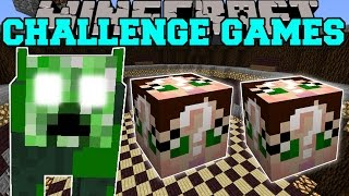 getlinkyoutube.com-Minecraft: CREEPER COW CHALLENGE GAMES - Lucky Block Mod - Modded Mini-Game
