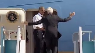 getlinkyoutube.com-Obama Yells at Bill Clinton to Get on Air Force One