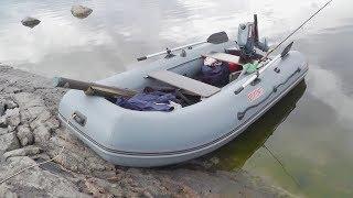 getlinkyoutube.com-Моторная лодка ПВХ Посейдон Викинг VN-320-LE