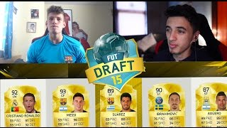 FIFA 16 Gamemode IN Fifa 15!! - WEIRD FUTDRAFT WITH THE BURNTCHIP..!?