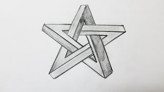 getlinkyoutube.com-How to draw the impossible star