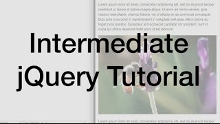 getlinkyoutube.com-jQuery Variables, Functions, and Conditional Logic Tutorial