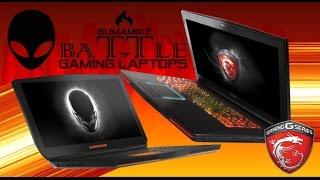 Alienware 17 2015 VS MSI GT72 Dominator PRO - GTX 980m GTX 970m - Gaming Laptops Battle comparison