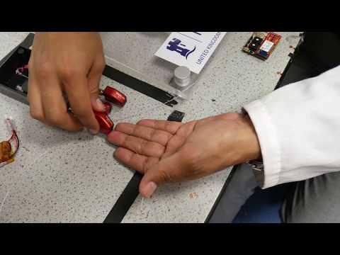 Smart sensor bandage for chronic wounds