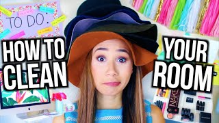 getlinkyoutube.com-How To Clean Your Room! + DIY Room Decor and Organization!
