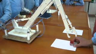 getlinkyoutube.com-Hydraulic System Based Robot Arm & Hidrolik Sistem Tabanlı Robot Kol