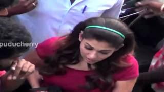 getlinkyoutube.com-Actress Nayantara was Seen in the Streets of Pondicherry – RedPix24x7