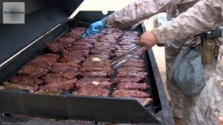getlinkyoutube.com-Military Food: Marines Enjoy a Warriors Meal