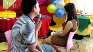 getlinkyoutube.com-Pinoy Henyo Wedding Proposal
