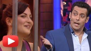 Salman Khan Flirts With Elli Avram In Bigg Boss Season 7