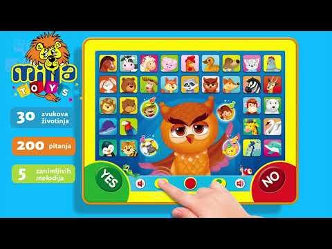 Dečiji tablet SOVA PAMETNICA video