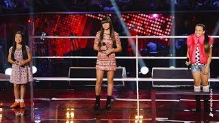 getlinkyoutube.com-Trinity, Bella and Sienna Sing When You Believe | The Voice Kids Australia 2014