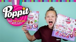 getlinkyoutube.com-Poppit Clay Creations by Moose Toys | DIY Clay Craft Set