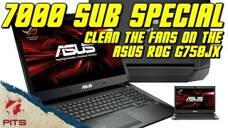 getlinkyoutube.com-Cleaning the fans on the Asus ROG G750jx | 7000 sub special