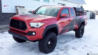 getlinkyoutube.com-Lifted 2016 Toyota Tacoma on 35X12.50R17 Tires