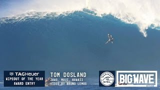 getlinkyoutube.com-Tom Dosland at Jaws - 2016 TAG Heuer Wipeout of the Year Entry - WSL Big Wave Awards