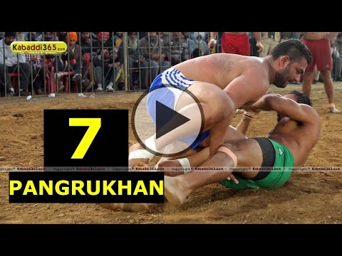 Pangrukhan (Khanna) Kabaddi Tournament 01 Jan 2015 Part 7 by Kabaddi365.com