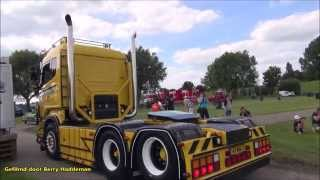 getlinkyoutube.com-Scania V8 | Open pipe exhaust sound! - Truckmeeting | Nog Harder Lopik 2015