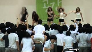 getlinkyoutube.com-Waveya 웨이브야 Korean Dance team - sexy performance & PSY