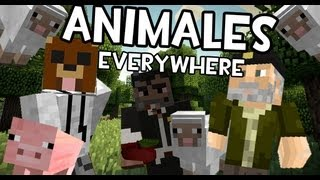 getlinkyoutube.com-Minecraft | ANIMALES HABLANTES FOR THE WIN | Juegos del Hambre