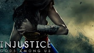 getlinkyoutube.com-Injustice: Gods Among Us - Wonder Woman - Classic Battles on Very Hard