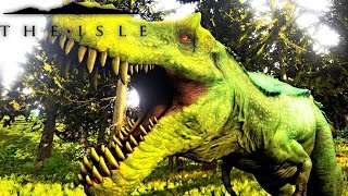 getlinkyoutube.com-The Isle - REX TO HYPO REX PROGRESSION, PLAYING AS HYPERNDOCRIN REX, FIGHTING PUERTA ( Gameplay )