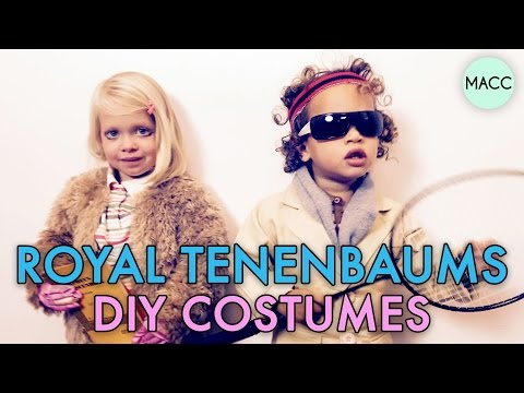 DIY Halloween Costumes: The Royal Tenenbaums