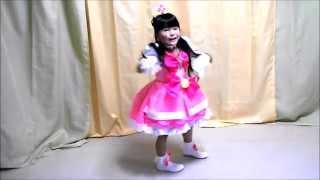getlinkyoutube.com-【華月6歳】なりきり☆ Go!プリンセスプリキュア(全3キャラ手作り衣装)