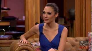 "getlinkyoutube.com-Gal Gadot - INTERVIEW - The new ""Wonder Woman"" - Fast & Furious 6 - HUFFINGTON POST HUFFPOST LIVE"