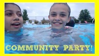 getlinkyoutube.com-COMMUNITY POOL PARTY!
