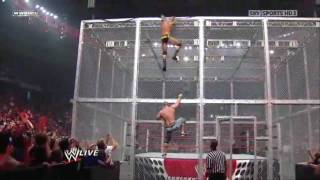 getlinkyoutube.com-John Cena & Randy Orton On Top Of Hell In A Cell