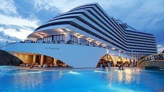 getlinkyoutube.com-Отель Titanic Beach Lara 5* - Турция, Анталия