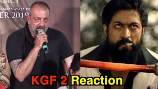 Sanjay Dutt Talking About His Character ADHEERA From KGF 2