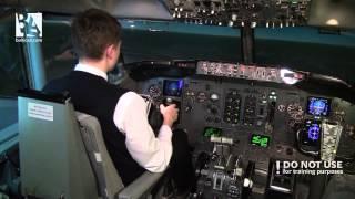 getlinkyoutube.com-Boeing 737 CL: Dual engine failure on short finals