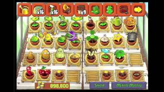 getlinkyoutube.com-PvZ Plants Vs Zombies Completed Zen Garden All Plants Possible