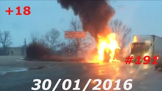 getlinkyoutube.com-Подборка Аварий Январь 2016 Car Crash Compilation #11