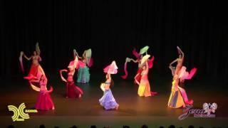 getlinkyoutube.com-Fan Veils Performance by Merlzy Dance Troupe
