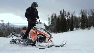 getlinkyoutube.com-Snowmobile 2016 Arctic Cat - Mountain Category