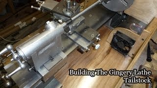 getlinkyoutube.com-Making the Gingery Lathe Tailstock
