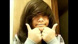 "getlinkyoutube.com-How to cut ""emo"" hair"