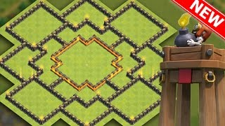 "Clash Of Clans | BEST TH10 HYBRID BASE ""NEW UPDATE"" w/BOMB TOWER 