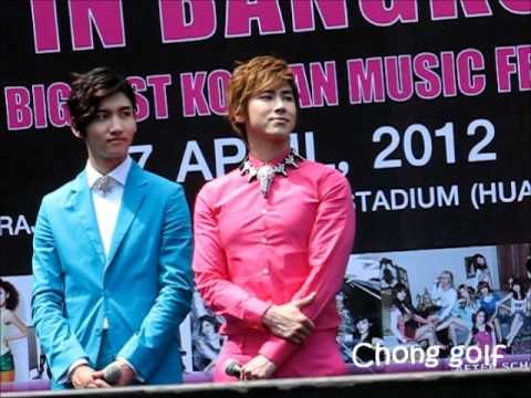 YUNHO TVXQ Korean Music Wave in Bangkok 2012