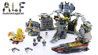 Lego Batman Movie 70909 Batcave Break-In - Lego Speed Build Review