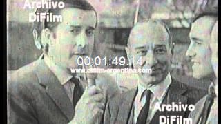 DiFilm - Nota a Paco Mayorga, Pepe Miglione, Cocho Lopez (1969)
