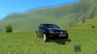 getlinkyoutube.com-City Car Driving 1.5.3 | Volkswagen Golf VI 6 R10 | [+DOWNLOAD LINK]