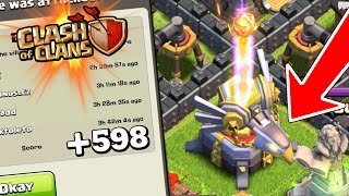 getlinkyoutube.com-Clash Of Clans | UNDEFEATED EAGLE ARTILLERY TROLL BASE!! | New Town Hall 11 Epic Max Troll Base CoC!