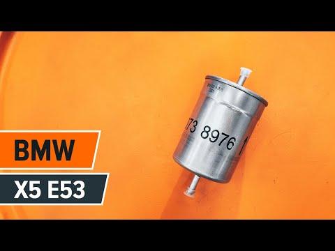 How to replacefuel filteronBMW X5 E53 TUTORIAL | AUTODOC